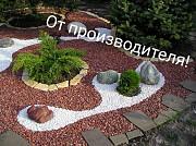 Белая мраморная крошка практично и очень красиво Алматы