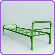 Двухъярусные железные кровати, металлические кровати с дсп спинками. Жезказган