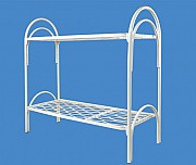 Кровати металлические двухъярусные для казарм, кровати трёхъярусные. Алматы