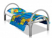 Кровати металлические с ДСП спинками для санаториев, кровати оптом Нур-Султан (Астана)