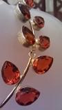 Продам серебряное колье с натуральными камнями Алматы