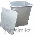 Оцинкованные нержавеющие мусорные контейнеры 750 л Алматы