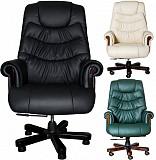 Кресло руководителя эконом, стулья для персонала Темиртау