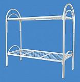 Трехъярусные металлические кровати для общежитий, кровати оптом Караганда