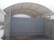 Изготовление и монтаж навесов из поликарбоната (полигаля) Алматы