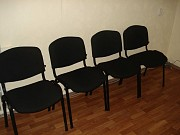 Стулья для учебных учреждений, Стулья для офиса, стулья для посетителей Алматы