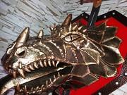 Кованая голова Дракона Степногорск