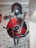 Элементы рыцарского оружия, щитов и снаряжения. Степногорск