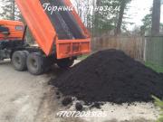 Горный плодородный чернозем Алматы
