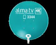 Алма ТВ спутниковое телевидение доставка из г.Алматы