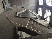 Лестницы бетонные и металлические . 3D проект в подарок. Алматы