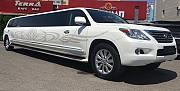Аренда прокат на свадьбу и день рождения, выписка с роддома и транфер, Лимузин Lexus Lx570 Swarovski Алматы