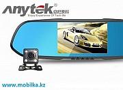 Продам Автомобильный видеорегистратор зеркало с выносной камерой Anyte Алматы