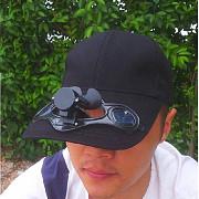 Продам кепку с вентилятором на 2х солнечных батареях Алматы