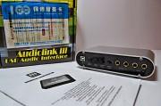 Новая внешняя USB звуковая карта Miditech AUDIOLINK III (MIDI, ASIO) Нур-Султан (Астана)