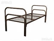 кровати одноярусные, кровати от производителя, кровати для бытовок Алматы