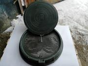 Люки полимер-песчаные смотровых колодцев от производителя в Рф Нур-Султан (Астана)