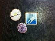 Изготовление значков с логотипом Алматы