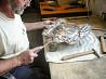 Обучение искусству чеканки по металлу