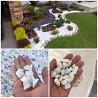 Красивые камни для Вас Галька белая Алматы