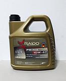 Полусинтетическое моторное масло Raido Prima 10w40 / Acea: A3/b3-12, A доставка из г.Алматы