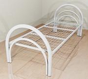 Кровать с металлической спинкой Байконыр