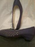 Продам новые кожаные женские туфли 38 размера. Костанай