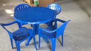 Пластиковые столы круглые 95см Алматы