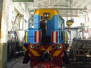 Тепловоз маневровый новый восстановленный ТЭМ2 УМ 1995 года выпуска Алматы
