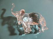 Фигурка слона (ограненный хрусталь). Павлодар