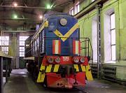 Тепловоз Маневровый ТЭМ 2УМ 1996 года выпуска 2018 сборка Алматы