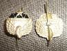Эмблема петличная ВС СССР Дорожные войска (на усах)