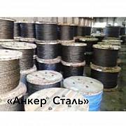 Канат 7669-80 - стальной канат двойной свивки типа ЛК-РО Алматы
