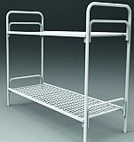 Кровать двухъярусная взрослая металлическая, кровать металлическая Павлодар