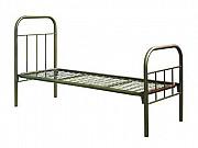 Кровати металлические для гостиницы, кровать металлическая двуспальная Актобе