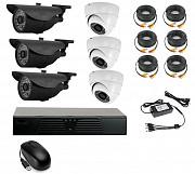 Продам комплект готового видеонаблюдения на 6 камер (Аналоговый) Алматы