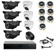 Продам комплект готового видеонаблюдения на 7 камер (Аналоговый) Алматы
