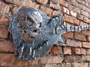 Кованая гитара с черепом Нур-Султан (Астана)