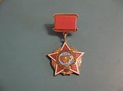 Нагрудный знак Воину-интернационалисту Павлодар