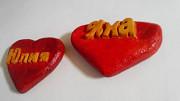 Сердечки (сердца) с именами. На заказ. Из дерева. Ручная работа Нур-Султан (Астана)