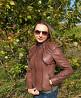 Куртка кожаная женская 3 в 1