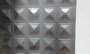 Лист металлический для ворот - формованный- 1х2 м Алматы