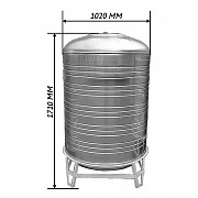 Емкость для воды 1м3 - из нержавеющей стали Алматы