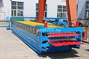 Профилегибочное оборудование для производства двухъярусных профнастило Караганда