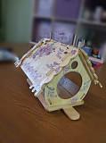 Кормушка для птиц с местом для декупажа (скворечник, птичий домик) Атырау