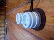 Ретро кабель для проводки на изоляторах Алматы