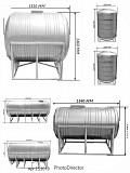Баки для питьевой воды от 250 л доставка из г.Алматы