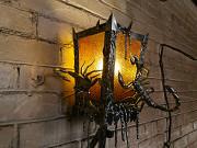 Кованый светильник с черепом и скорпионами Нур-Султан (Астана)