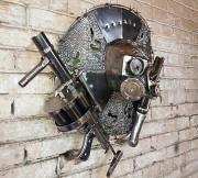 Кованый сюжетный светильник с черепом. Сталкер Нур-Султан (Астана)