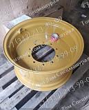 Диск колесный задний для экскаватора-погрузчика Case 580t доставка из г.Алматы